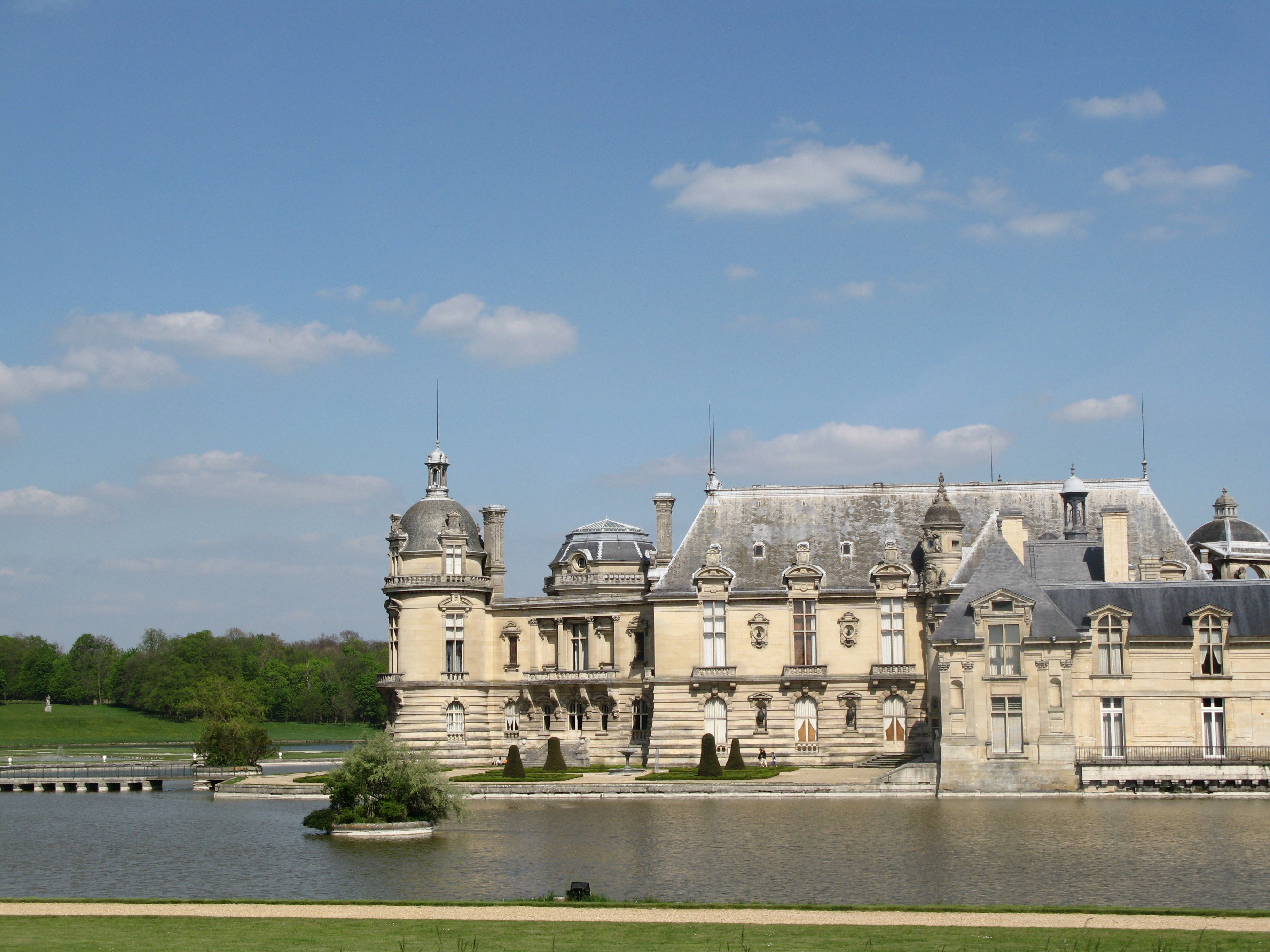 Fuerte en Castillo de Chantilly
