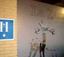 Pared en Restaurante La Zarza