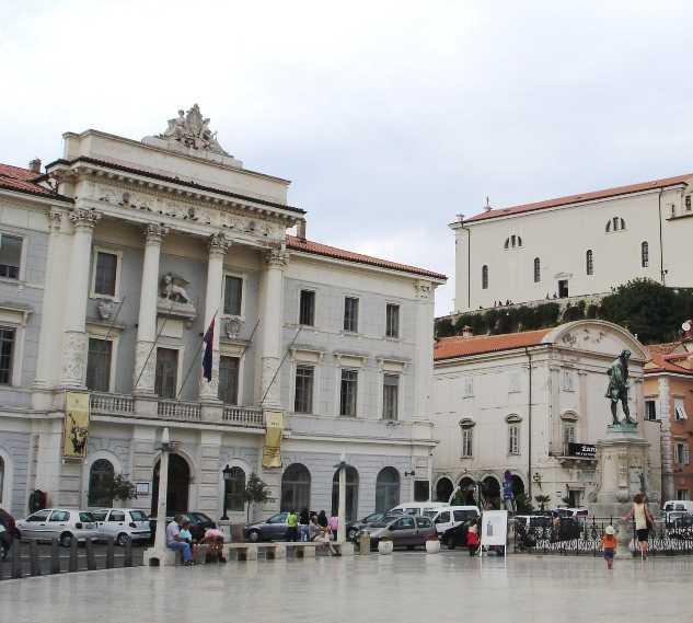Palacio en Plaza Tartini