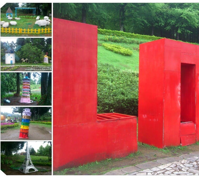 Red in Nantou City