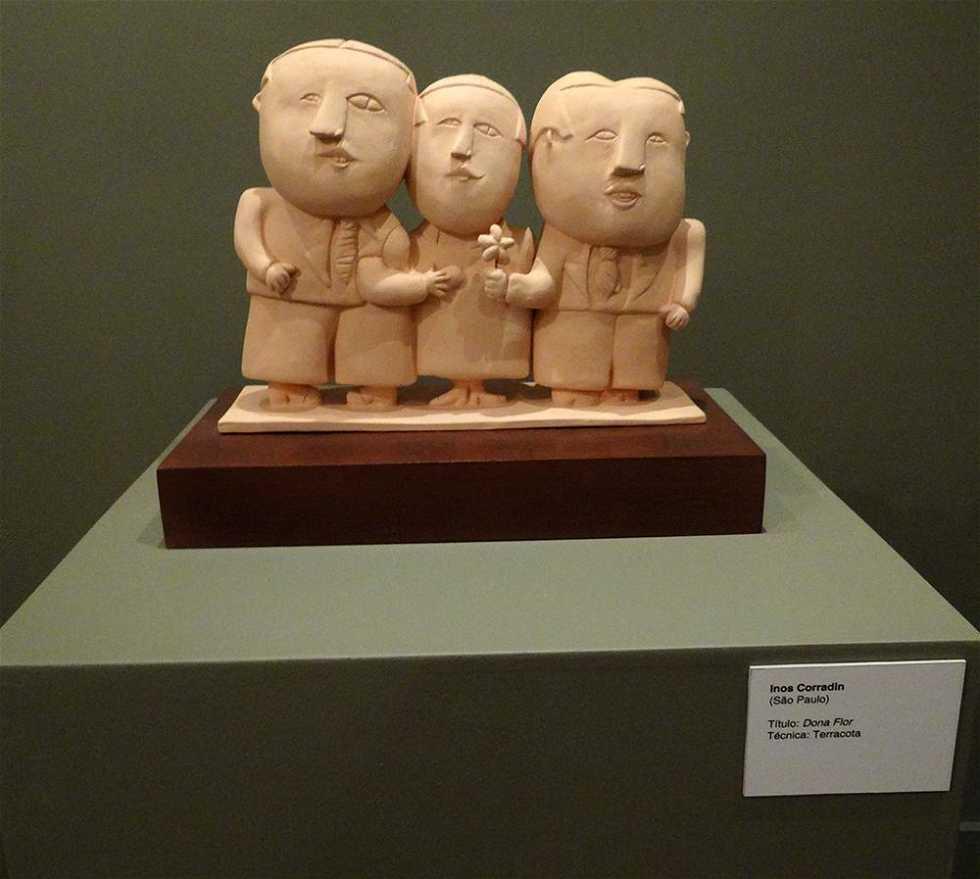 Escultura en Casa da Cultura