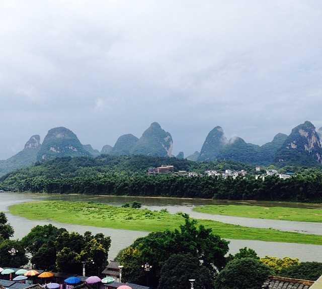 Compexo esportivo em Yangshuo