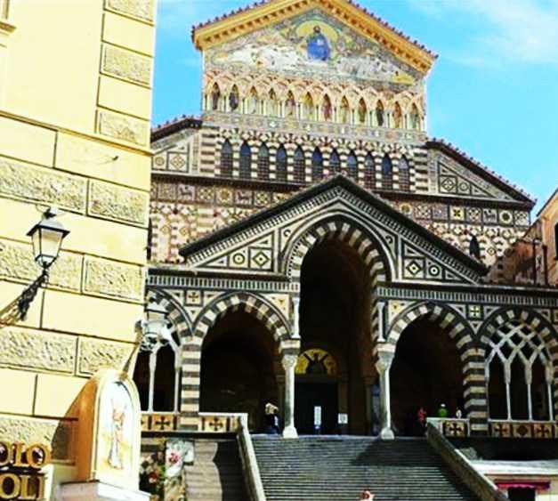 Emblemático en Duomo de Amalfi
