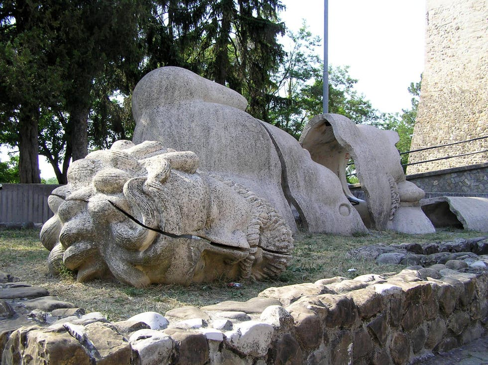 Sculpture in San Polo d'Enza