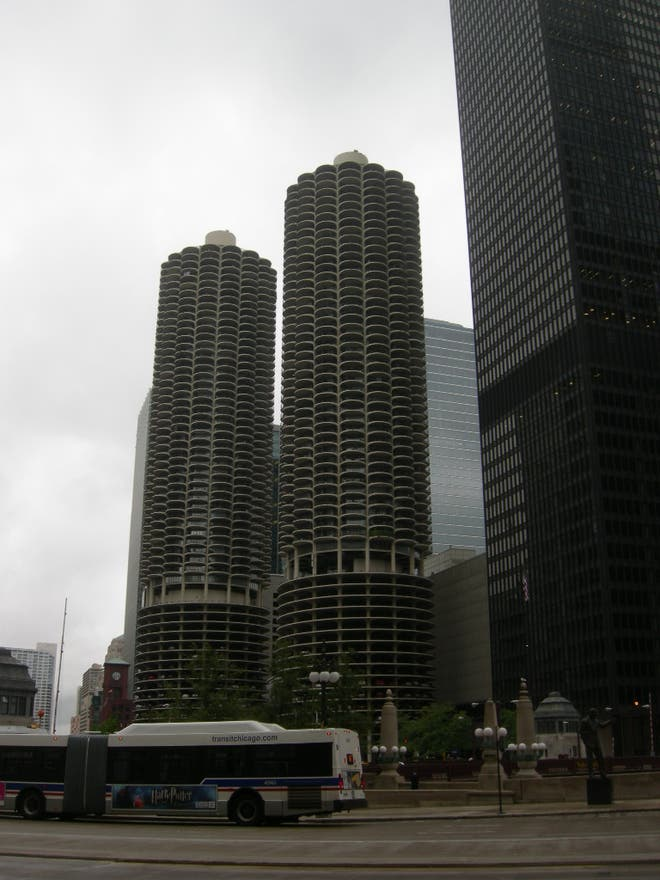 Skyline en Marina City
