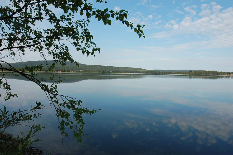 Reflection in Lapland