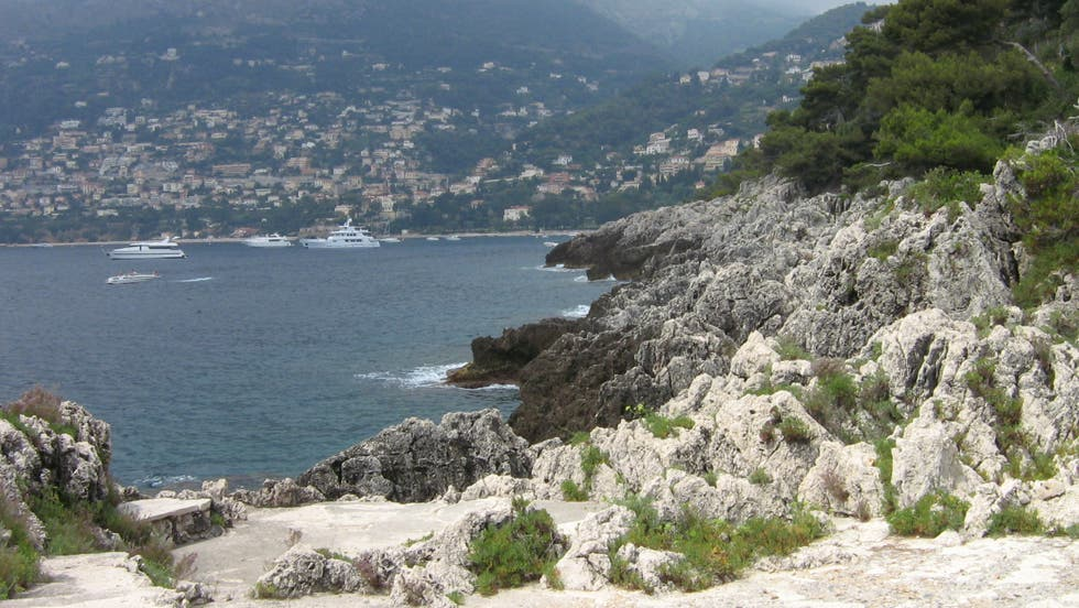 Sea in Roquebrune-Cap-Martin
