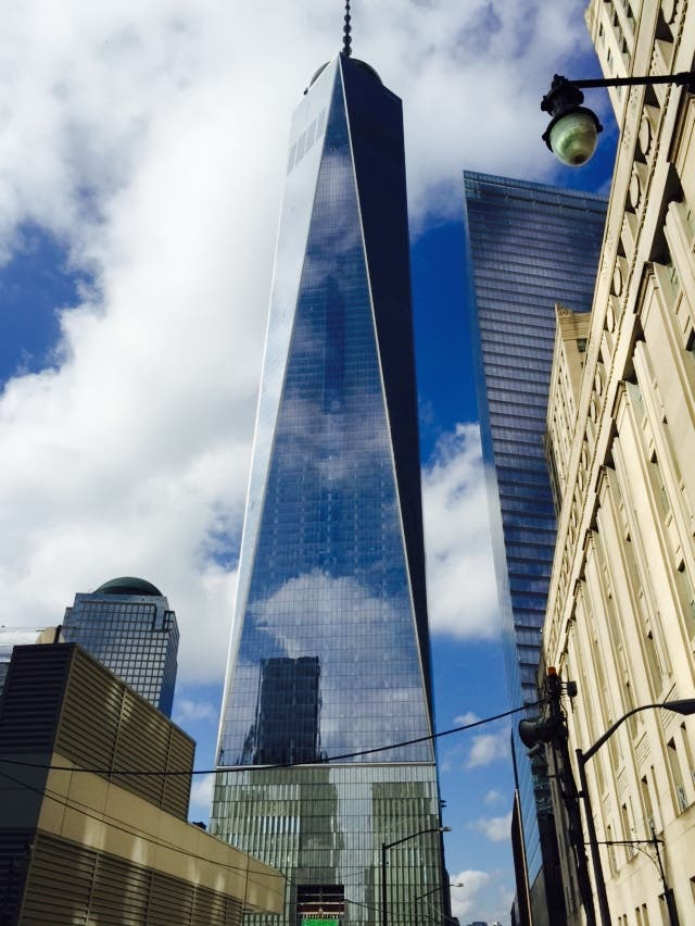 Cielo en Freedom Tower