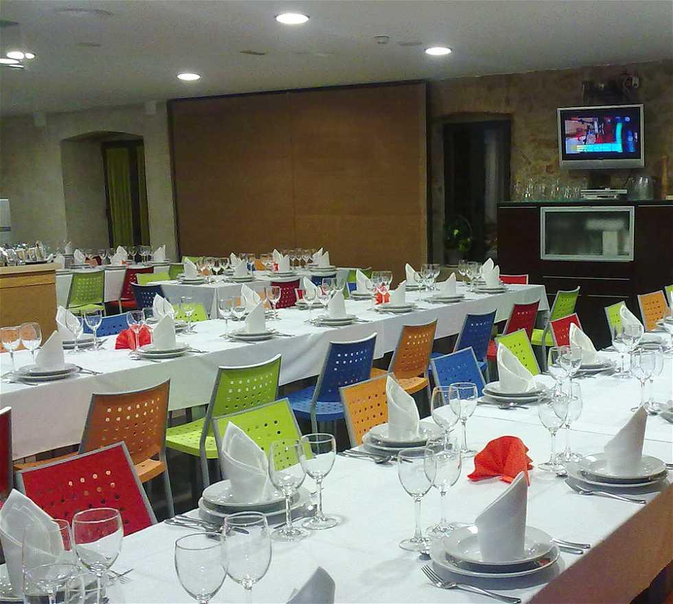 Banquete en Alberjerte restaurante