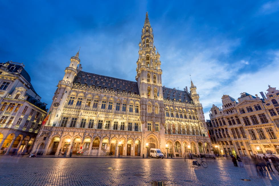 Plaza en Bruselas