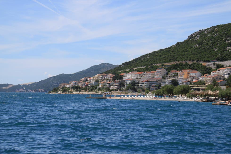 Coast in Neum