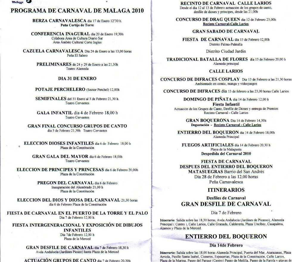 Forma en Berza Carnavalesca de Peña Cortijo de Torre