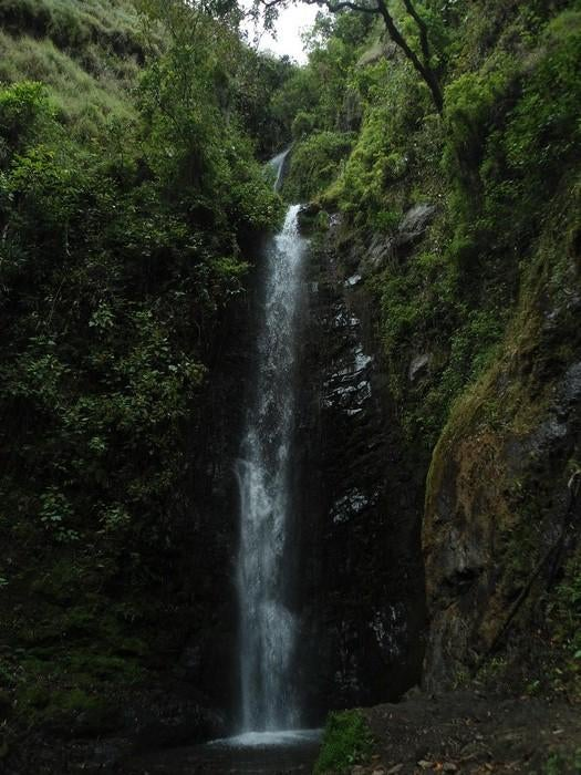 Waterfall in Vilcabamba
