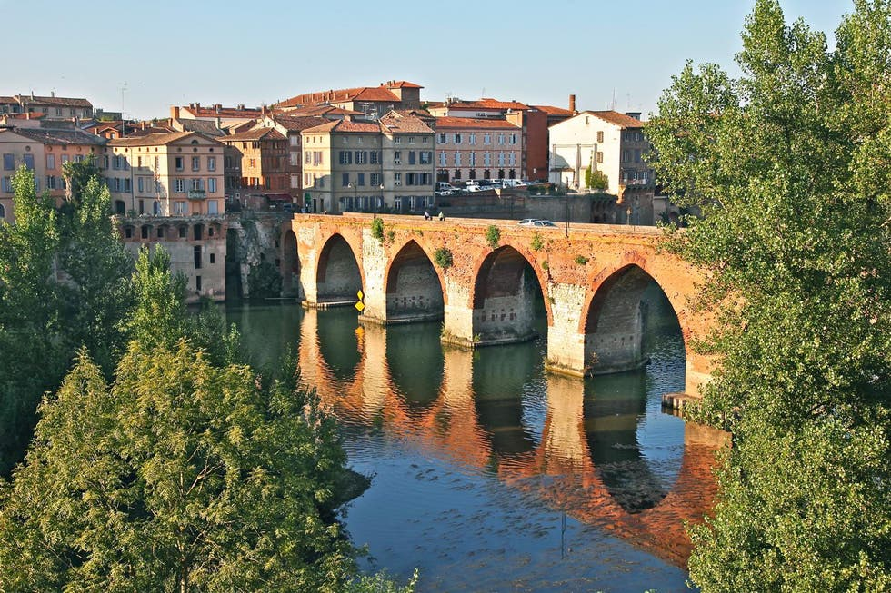 Reflection in Albi