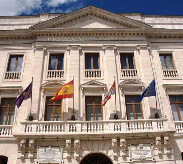 Pueblo en Palacio de la Diputación