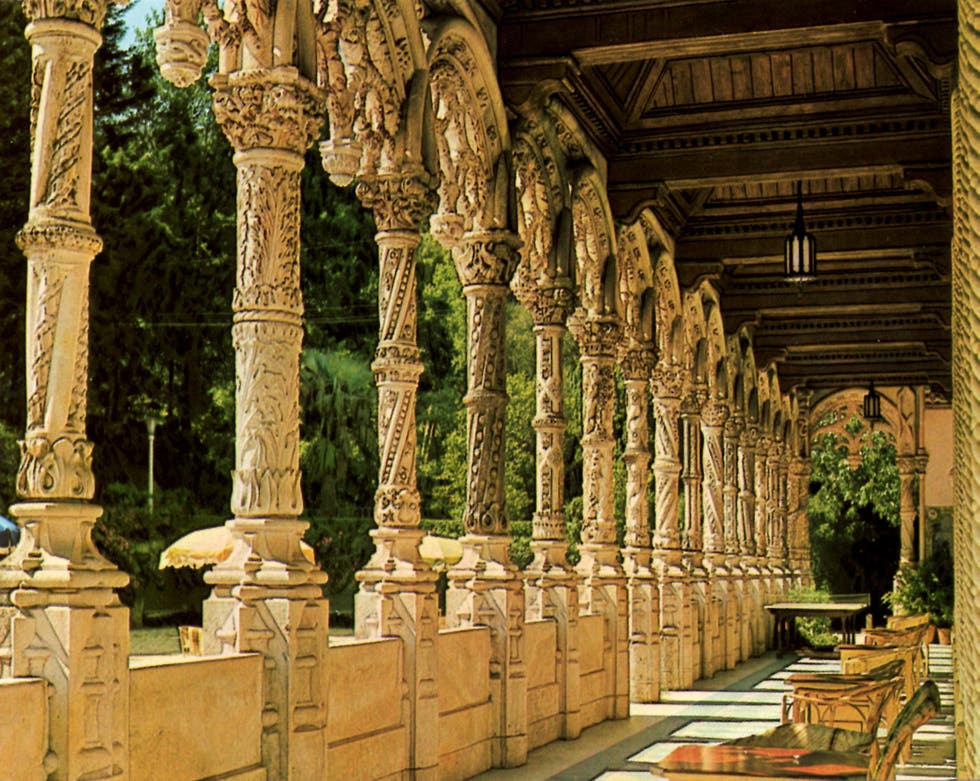 Building in Palace Hotel of Bussaco
