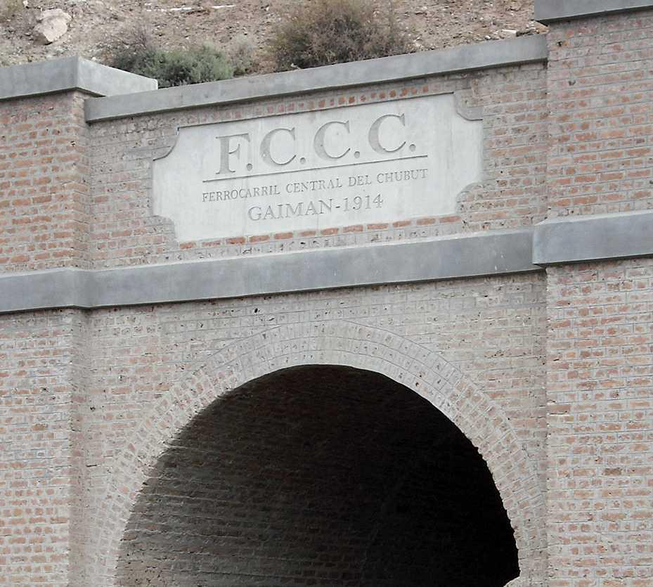 en Túnel del ex Ferrocarril Patagónico