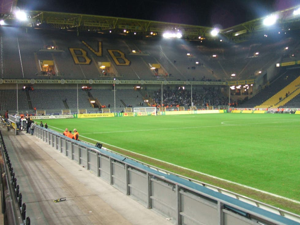 Soccer Specific Stadium in Dortmund