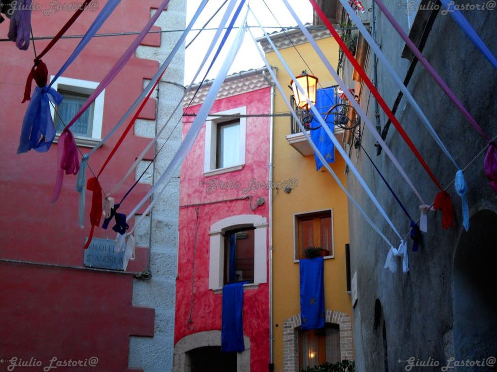 Red in Campobasso