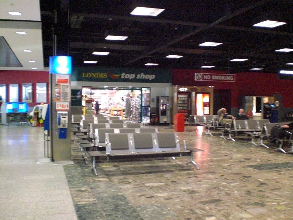 Airport Terminal in Shannon