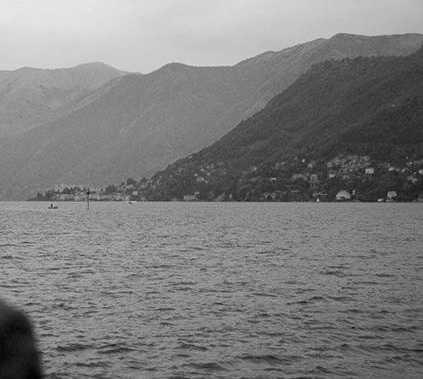 Blanco en Lago de Como