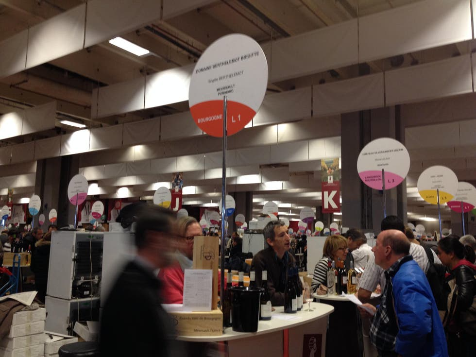 Photos de salon des vins des vignerons ind pendants for Salon des vins independants