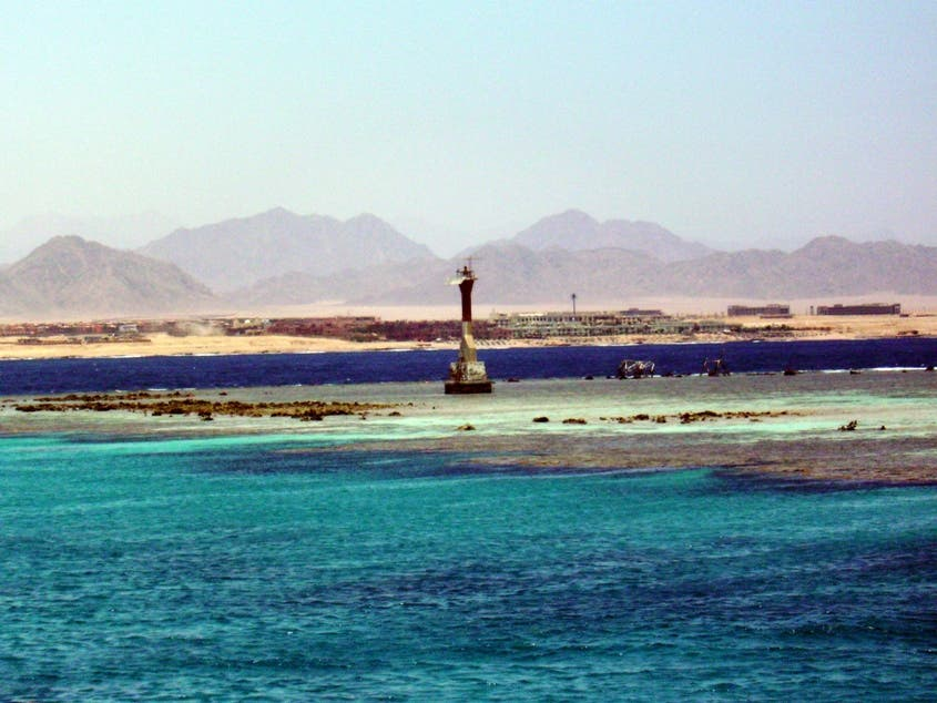 Beach in Sharm El Sheikh