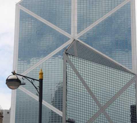 Rascacielos en Bank of China