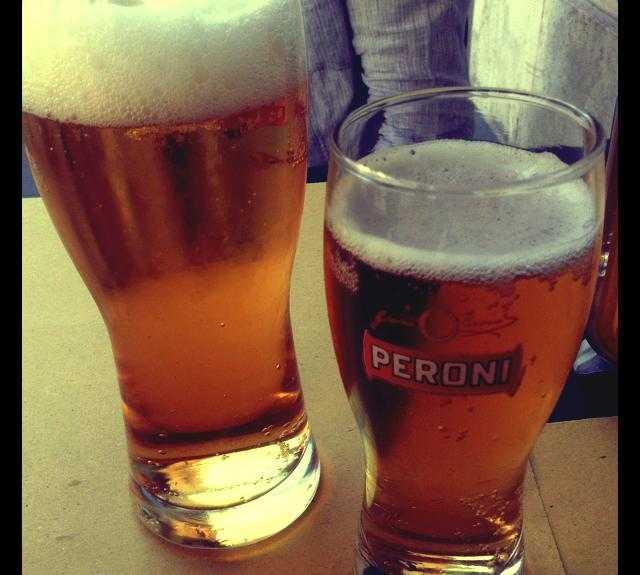 Cerveza en Soul Kitchen
