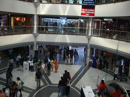 Shopping Mall in Bangalore