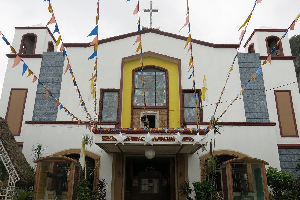 Facade in Parish of St Francis of Assisi