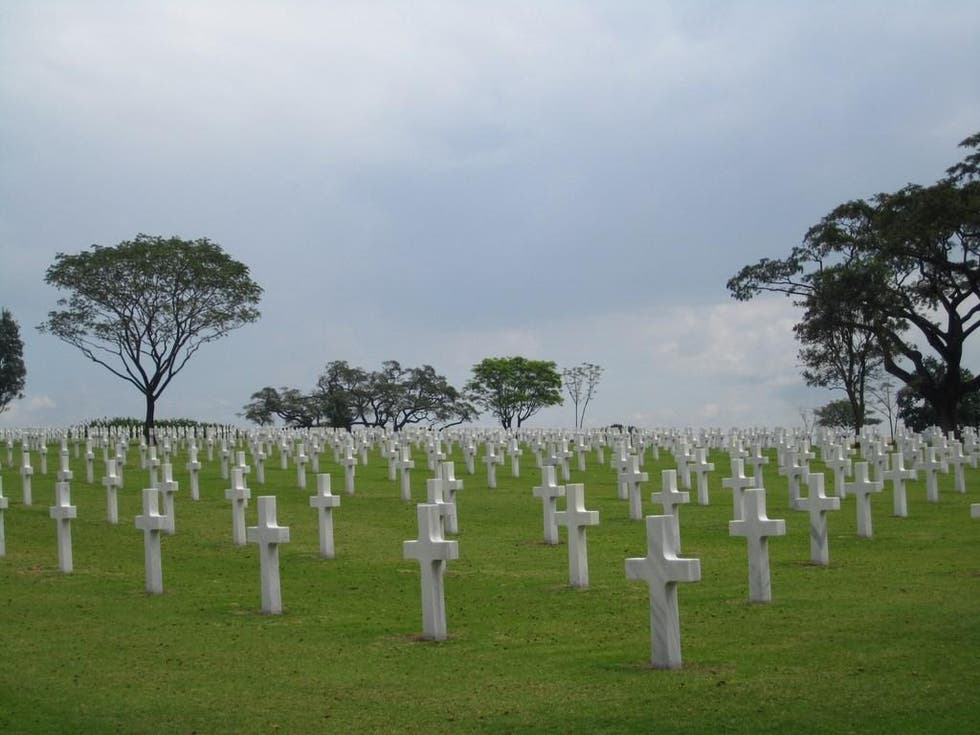 Cemetery in Taguig City