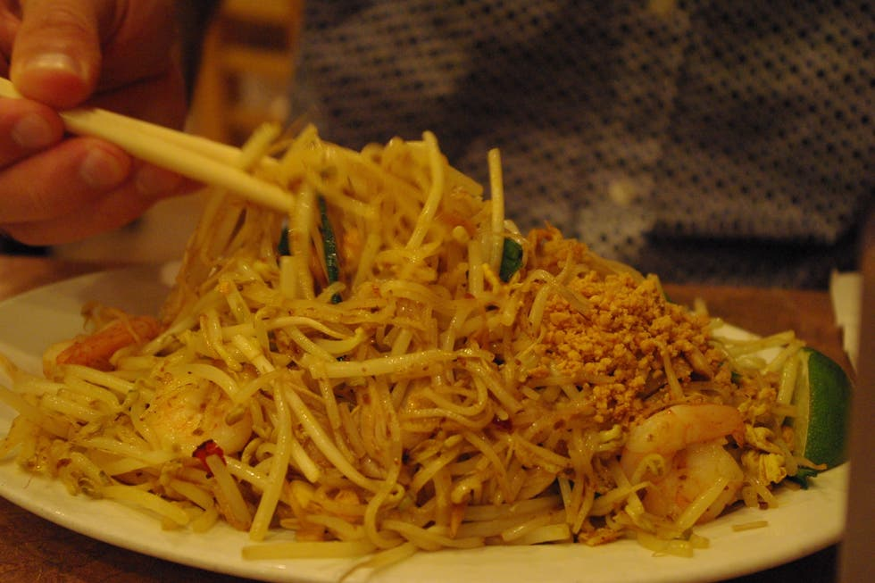 Chow mein à Just Noodles