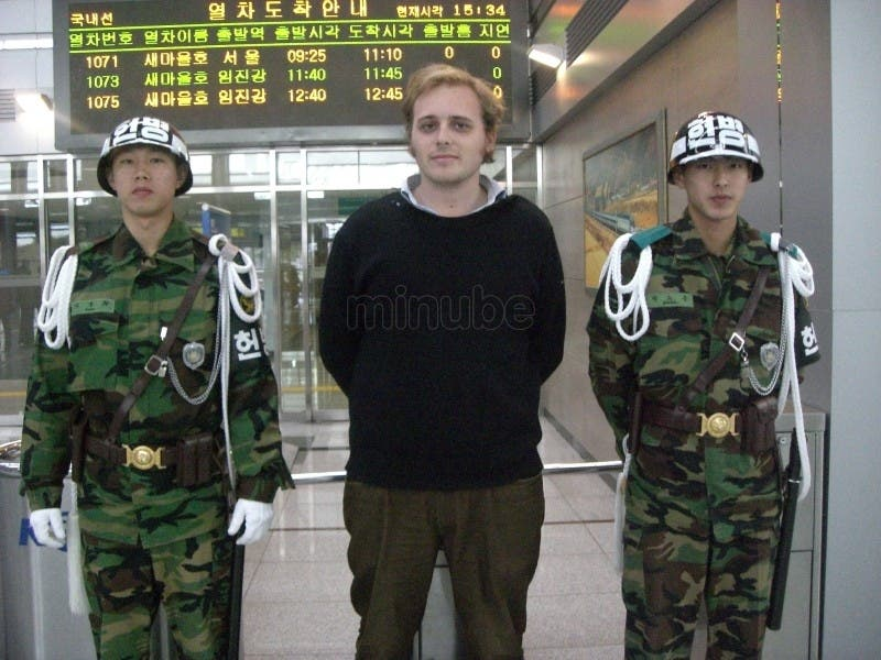 Soldier in North Korea