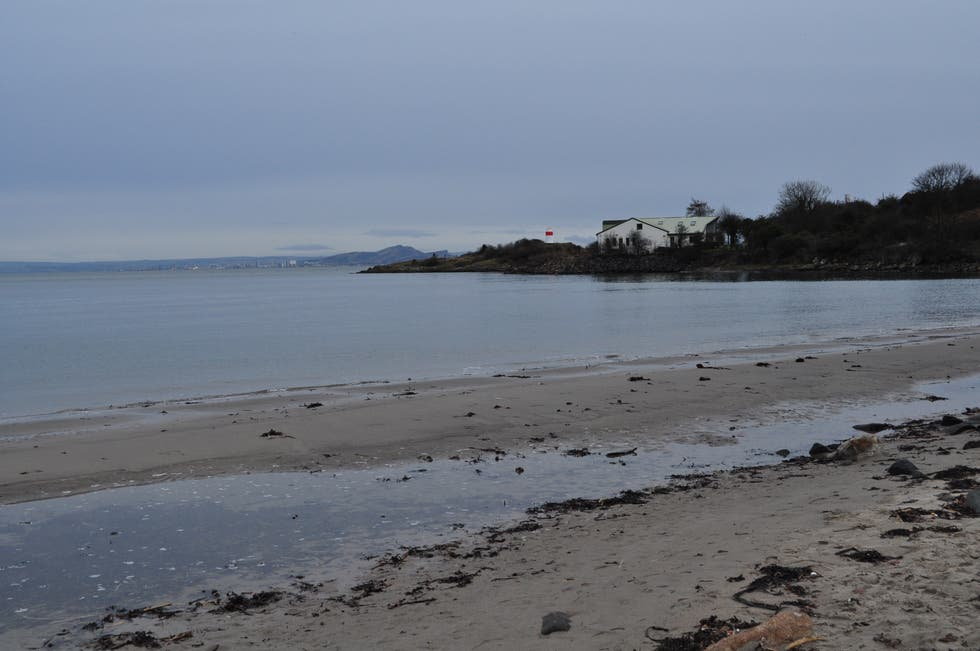 Mar en Playa de Aberdour (Silver Sands)