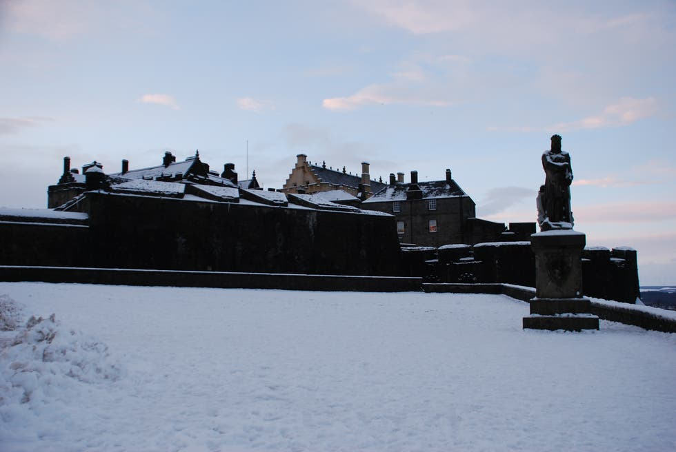 Invierno en Castillo de Stirling