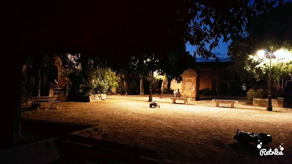 Night in Le Cannet-des-Maures