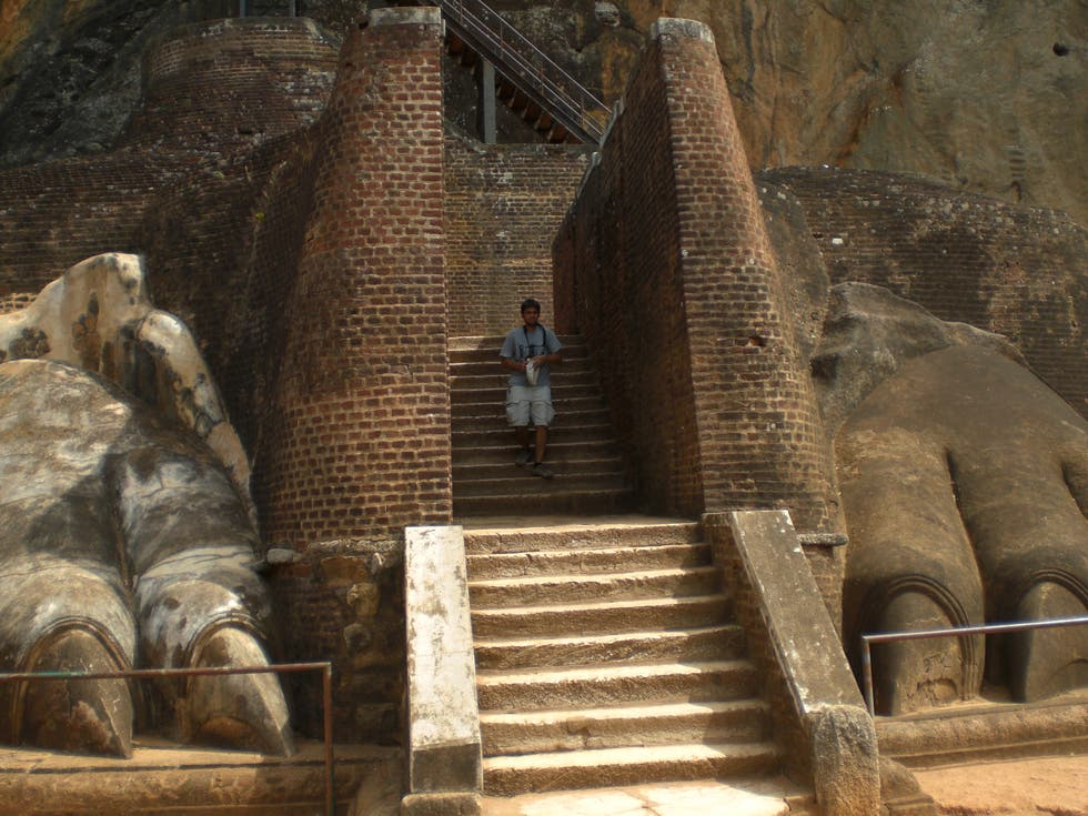 Roman Temple in Sigiriya