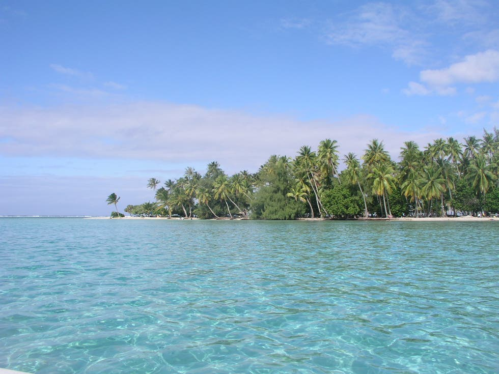 Islet in French Polynesia
