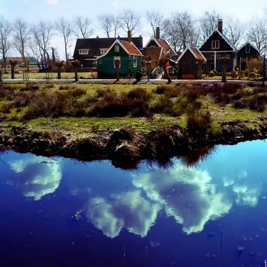 Reflection in Zaandam