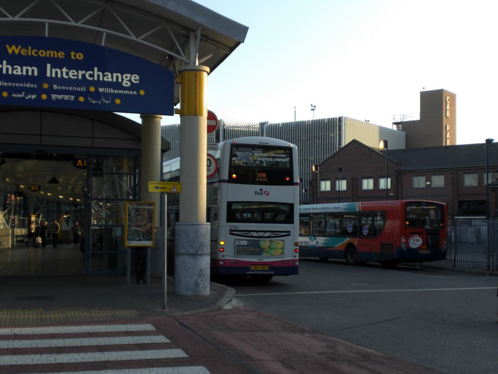 Transporte en Rotherham Interchange