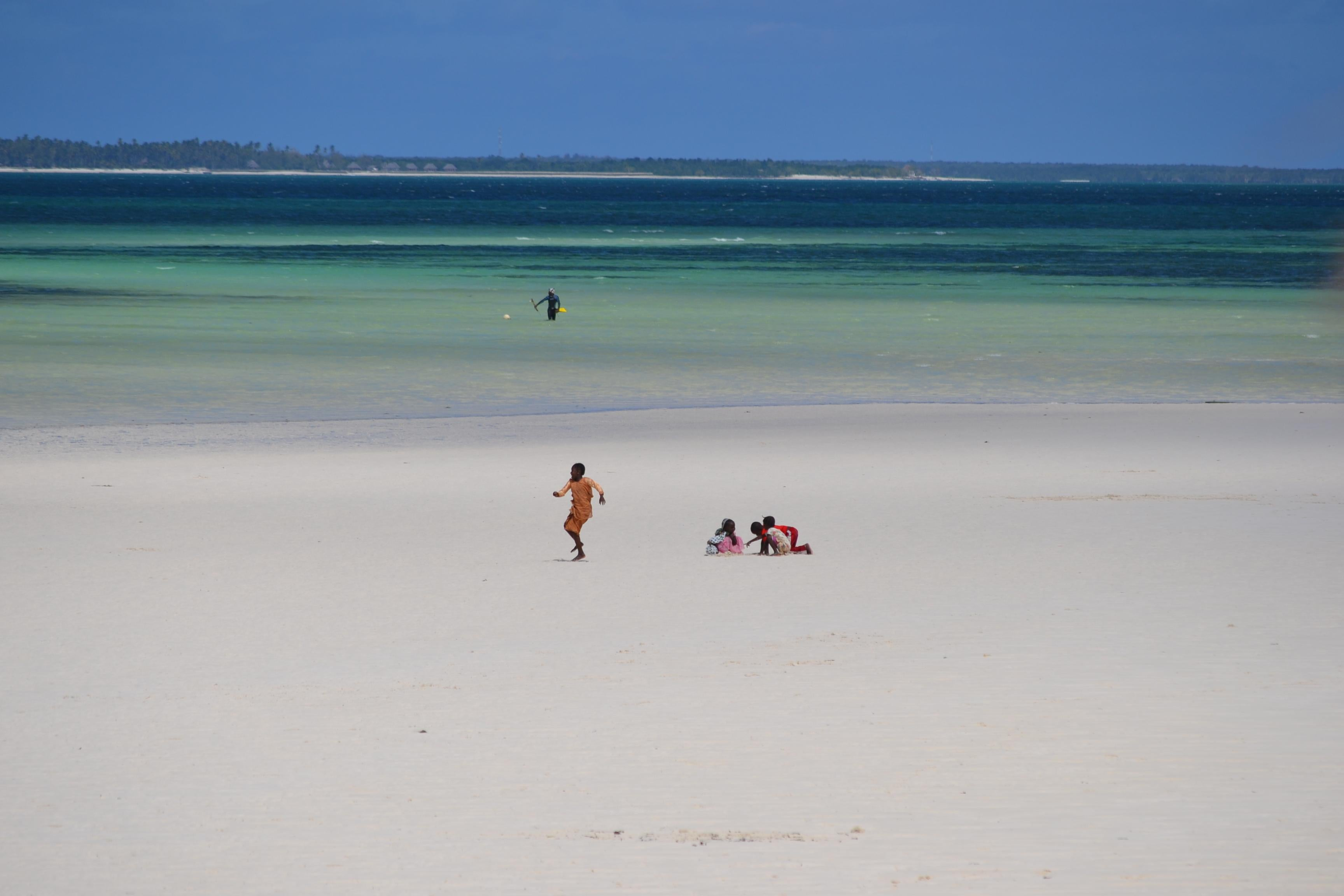 Playa en Región de Zanzibar Central-South