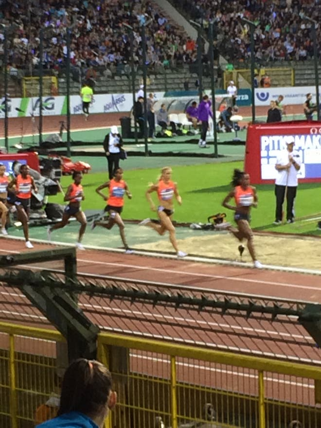 Atletismo en King Baudouin Stadium