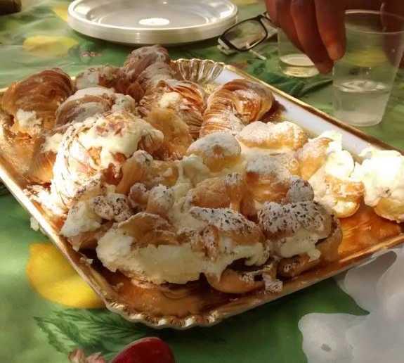 Comida en Pasticceria Marinari
