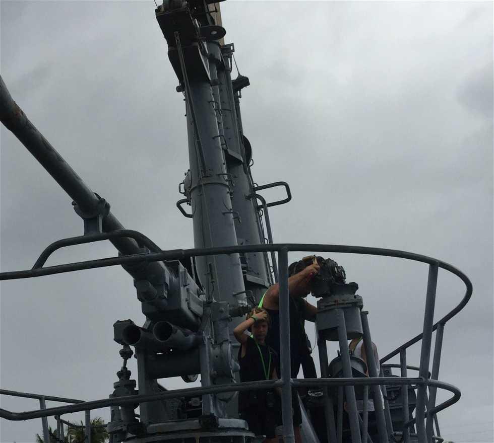 Vehículo en USS Bowfin