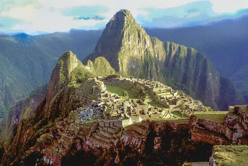 Landmark in Machu Picchu