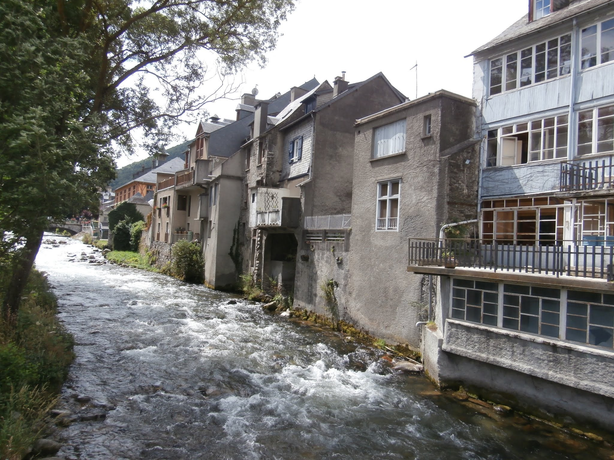 Waterway in Arreau