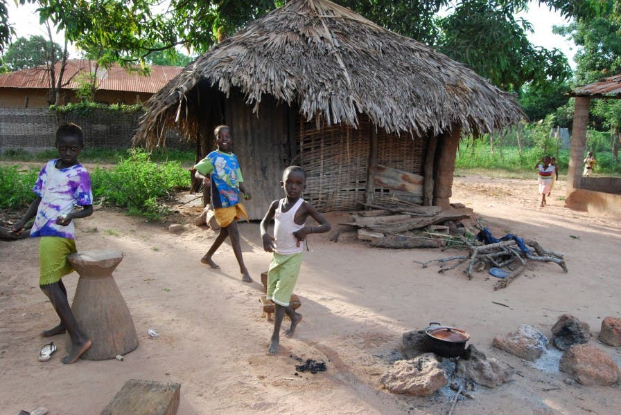 People in Gambia