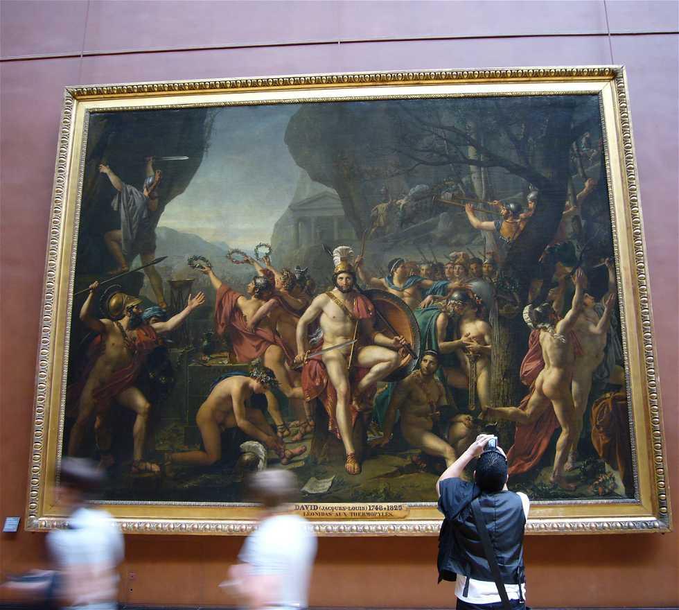 Pintura en Museo del Louvre