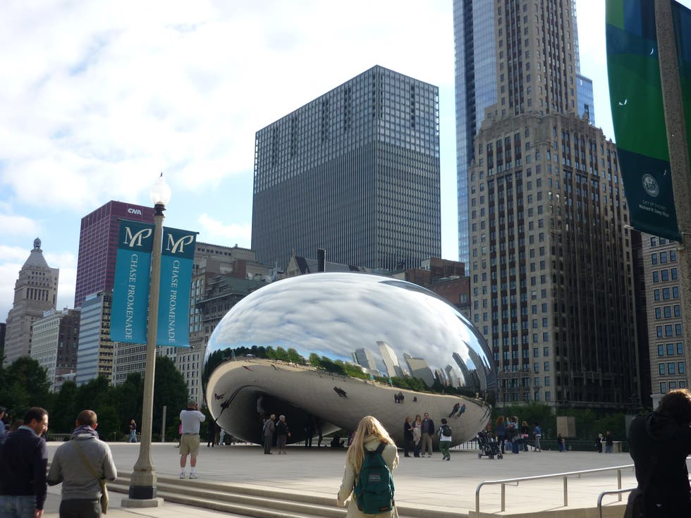 Downtown in The Bean
